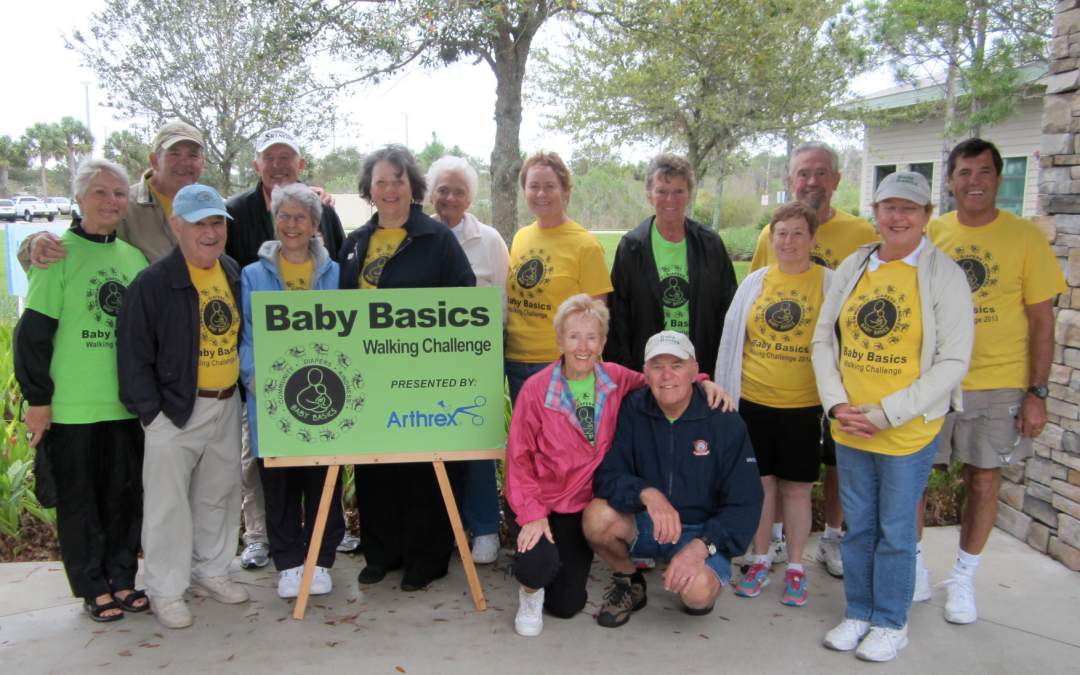 Baby Basics Walking Challenge for Collier County