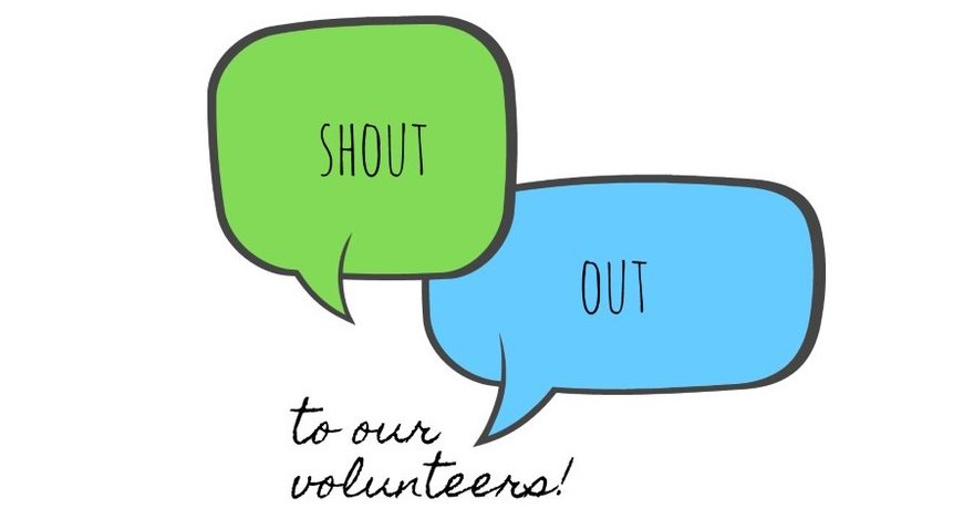 Volunteer Shout Out:  Kath Bergin